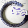 Water Snake Leather Bracelet ラップブレスレット GDB-41582