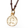 Ira Coin Necklace ネックレス レザーブレスレット PD-29924 BR