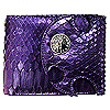 The Purple Snake Short Wallet - Limited Edition シルバー ペンダント WW-13270 PU SNK