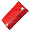 Horse Wallet Red レザー 財布 / ウォレット シルバー ピアス WWWL-2202 RD